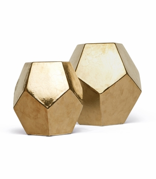 Polyhedron Objects | Gold