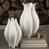 Pond Ceramic White Vases