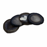 Posey Agate Coasters | Natural