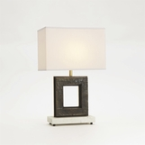 Quad Bronze Table Lamp