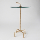 Quattro Side Table | Gold Leaf