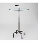 Quattro Side Table   Natural Iron