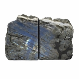 Quebec Labradorite Bookends