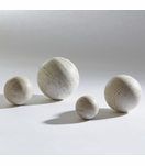 Raindrop Stone Spheres | Travertine