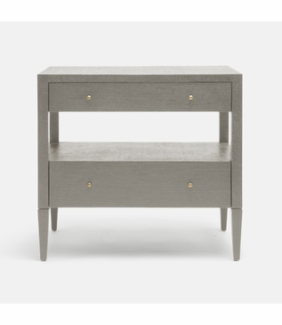 """Rainey Wide Side Table - 28""""H 