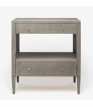 """Rainey Wide Side Table - 32""""H 