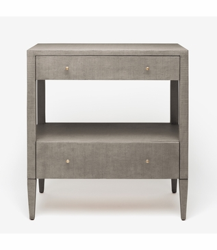 "Rainey Wide Side Table - 32""H 
