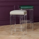 Rami Lucite Bar Stool | Bar Height