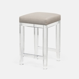 Rami Lucite Bar Stool | Counter Height