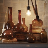 Recycled Vases Set | Brown