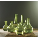 Recycled Vases Set | Green