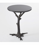 Redwood Side Table | Bronze