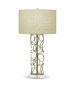 Reese Brass Table Lamp