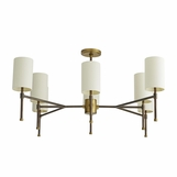 Remmy Chandelier | Burnished Brass