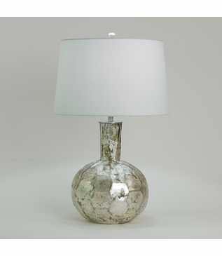 Renee Mercury Glass Lamp