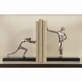 Resistance Nickel Bookends