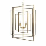 Retama Chandelier | Antique Brass