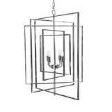 Retama Chandelier | Nickel