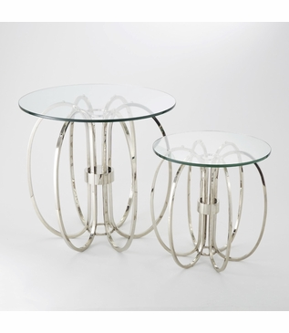 Ringed Side Tables