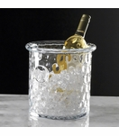 Ripples Glass Ice Bucket