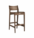 Ritter Walnut Bar Stool | Bar Height