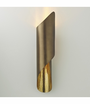 Rizzo Wall Sconce | Antique Brass