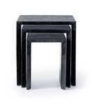 "Robertson ""Horn"" Nesting Tables 