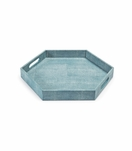 """Rocco Hex """"Shagreen"""" Tray 