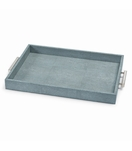 "Rocco ""Shagreen"" Tray 