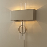 Rockefeller Nickel Wall Sconce