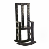 Chair Bronze Sculpture | Rocky