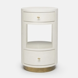 Rory Narrow Side Table | White