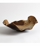 Ruffalo Ceramic Bowl | Bronze