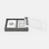 "Russo ""Shagreen"" Playing Card Box 