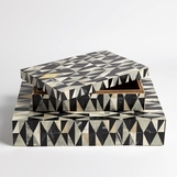 Saldo Geometric Patterned Boxes
