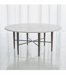 Salka Marble Coffee Table | Bronze