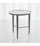 Salka Marble Side Table | Bronze