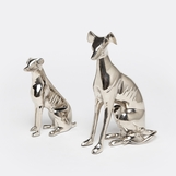 Sarasota Dog Sculptures Set | Nickel