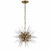 Satellite Small Chandelier | Brass