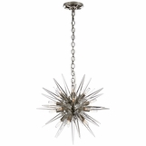 Satellite Small Chandelier | Nickel