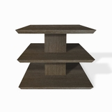 Scala Side Table, Dark Ceruse