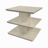Scala Side Table, Whitewash Oak