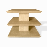 Scala Side Table, Light Ceruse
