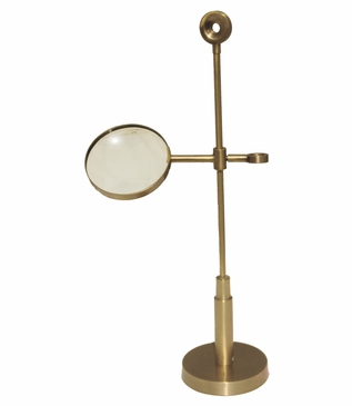 Scope Standing Magnifier | Brass