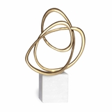 Scribble Brass Sculpture | No. 1