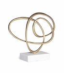 Scribble Brass Sculpture | No. 2