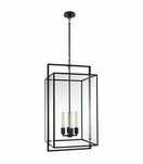 Selby Large Pendant | Iron