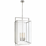 Selby Large Pendant | Nickel