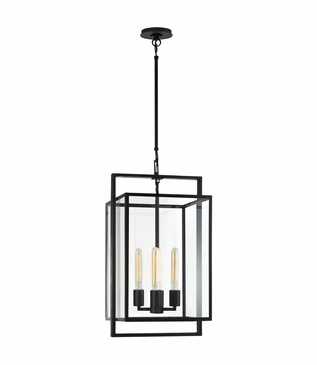 Selby Small Pendant | Iron