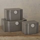 Serrato Leather Boxes